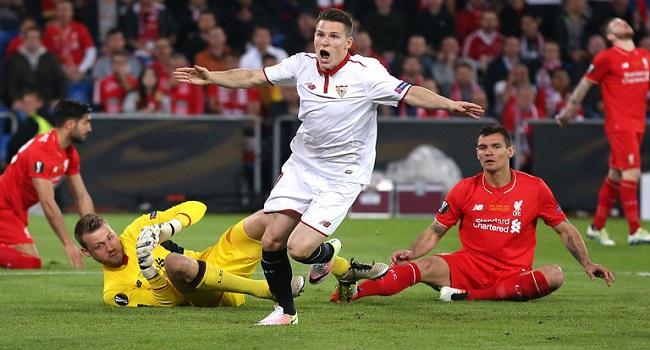 cuplikan gol sevilla vs liverpool 3-3