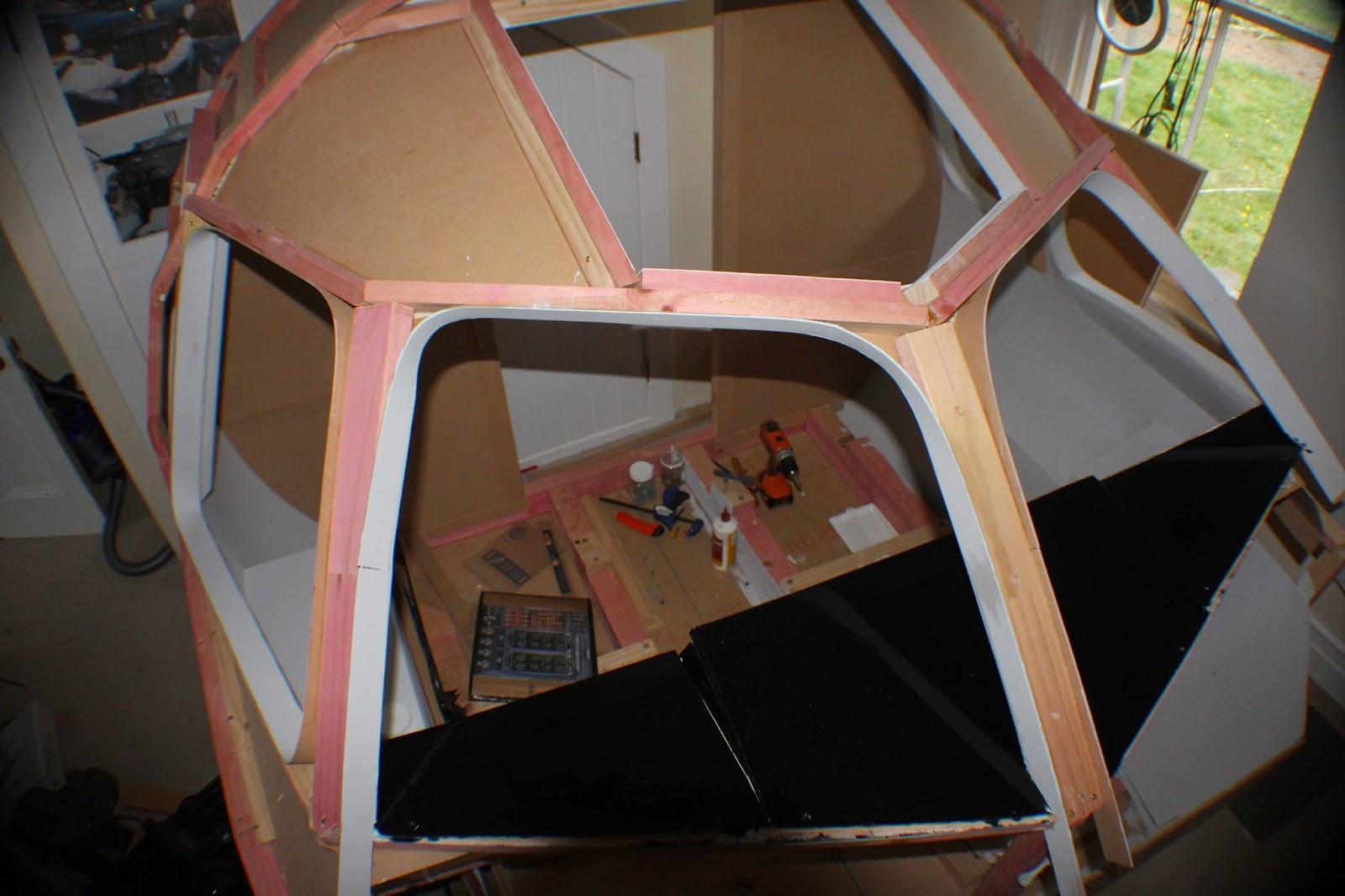 BAE 146 - Home Built Flight Sim: A little bit of an earthquake
