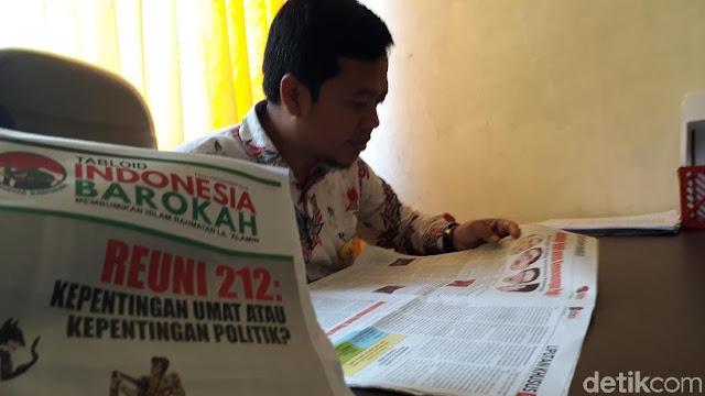 Menjalar Via Pos, Siapa di Balik 'Indonesia Barokah'?