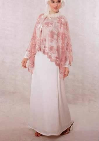 model kebaya brokat muslim untuk wisuda