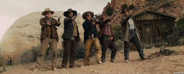 Henry's Western Round-up: 'RIDICULOUS 6', 'C-BAR' REVIEWED