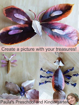 These natural materials are beautiful and free, and just right for teaching math concepts too! I love the Earth Day tie in, and that anyone can do this with whatever natural treasures they can find.