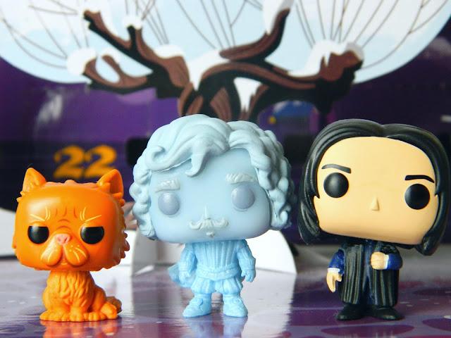 Funko Pocket Pop! Crookshanks, Nearly Headless Nick, Severus Snape
