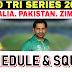 Tri-Series SCHEDULE & SQUAD | PAK VS ZIM VS AUS