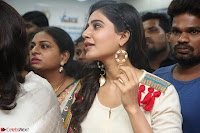 Samantha Ruth Prabhu Smiling Beauty in White Dress Launches VCare Clinic 15 June 2017 055.JPG