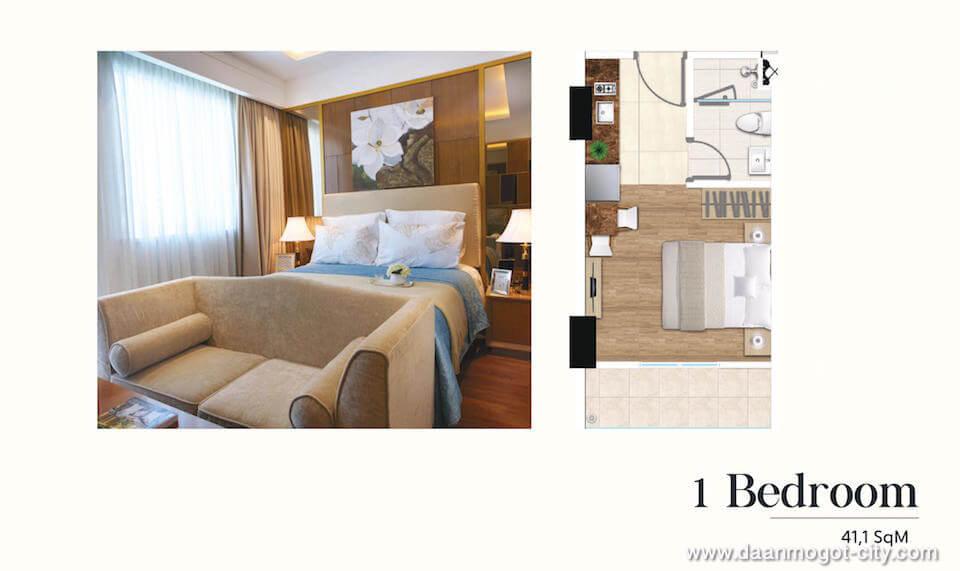 Apartemen DAMOCI Tipe 1 BR