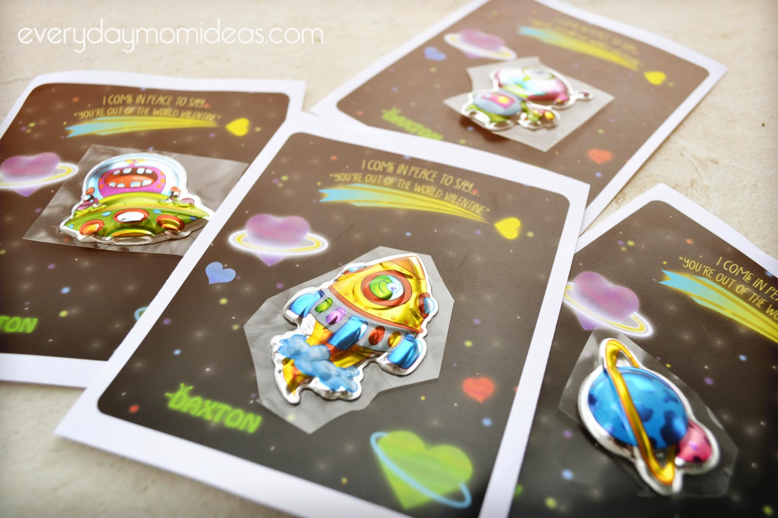 picture about Pop Rocks Valentines Printable titled Out of this world wide Valentines Printable - Day-to-day Mother Designs
