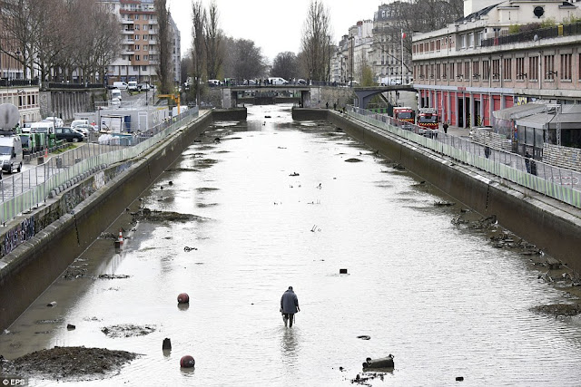 A Beautiful Canal In Paris Got Drained After 15 Years. What They Discovered In It Was Truly UNEXPECTED!