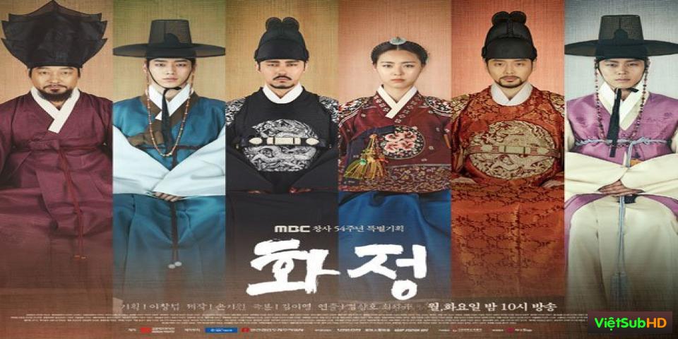 Phim Triều Đại Huy Hoàng / Bức Họa Vương Quyền Hoàn Tất (50/50) VietSub HD | Hwajung 2015