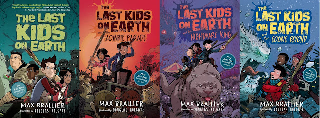 The Last Kids on Earth (le cover dei romanzi)