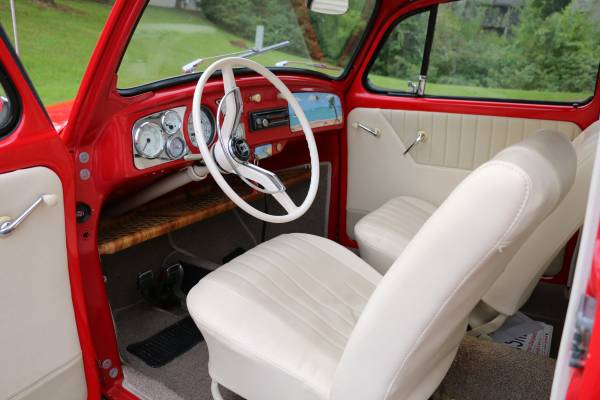 Vw Beetle California Look Interior