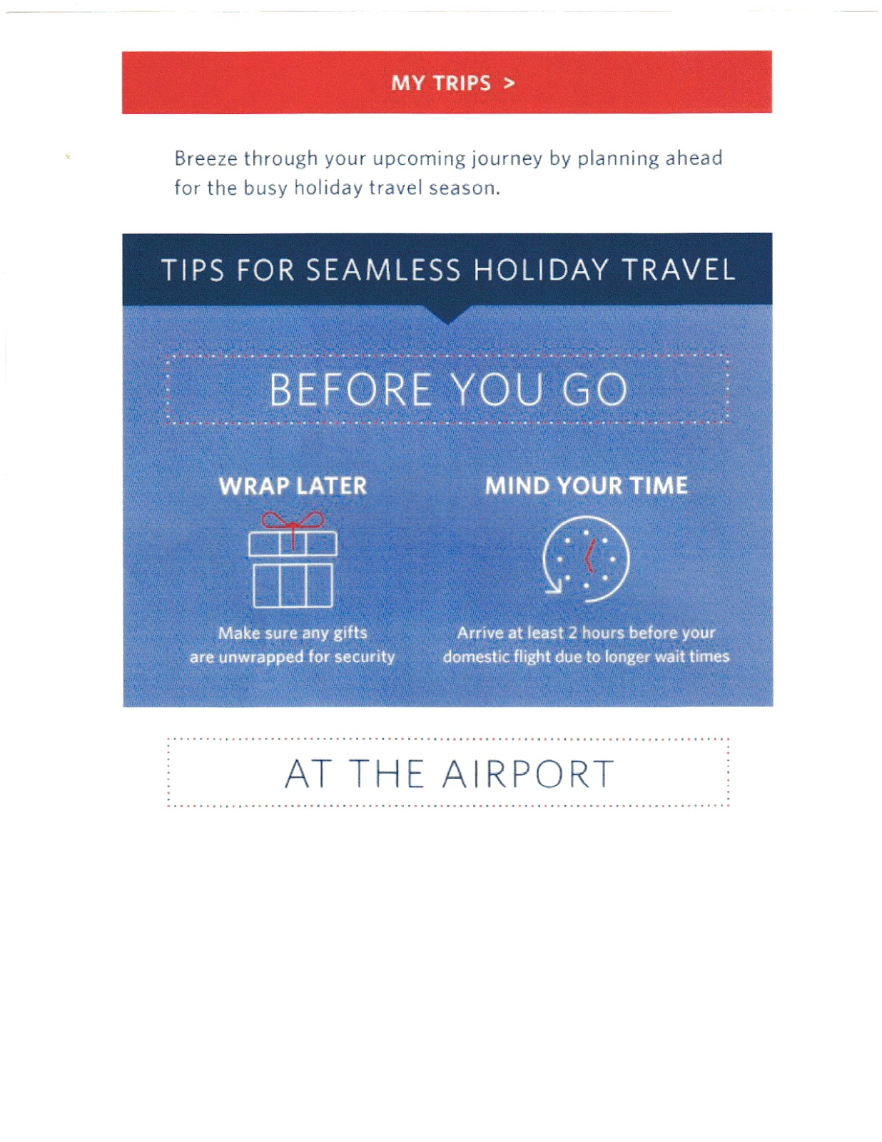 Delta Airlines: LGA, Delays, and Holidays - Mail That Fails