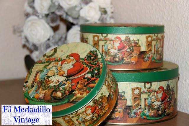 Cajas met licas con motivos navide os ref 9607 el - Cajas con motivos navidenos ...
