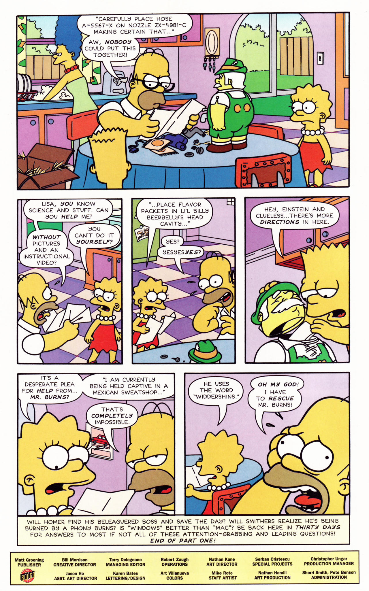Read online Simpsons Comics comic -  Issue #132 - 26