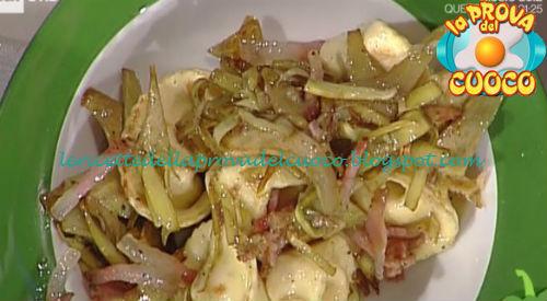 Cappellacci con ricotta e carciofi ricetta Facchini da Prova del Cuoco