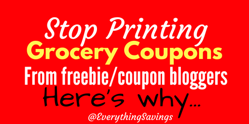 How tp Make Money on Grocery Coupons You Print
