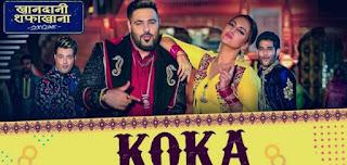 Koka-Song-Full-Lyrics-Badshah-Khandaani-Shafakhana
