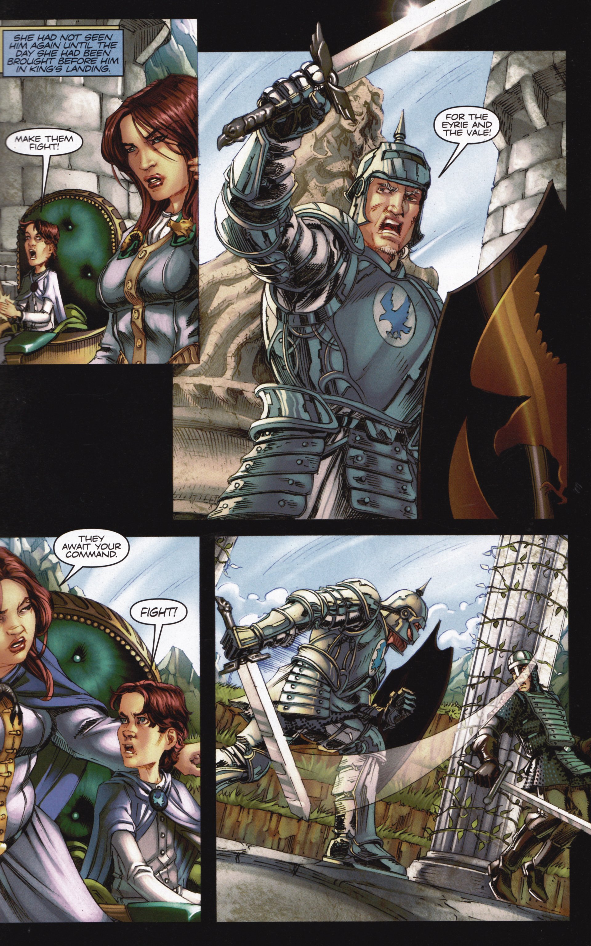 Read online A Game Of Thrones comic -  Issue #13 - 27