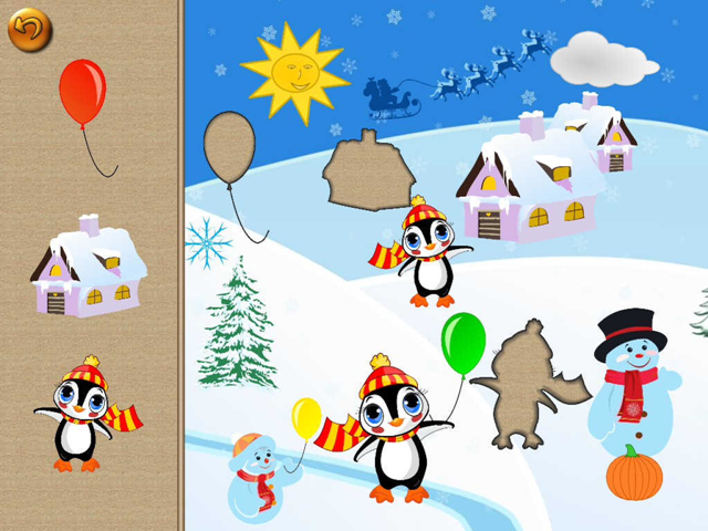 Puzzle for Santa Tiltan Games