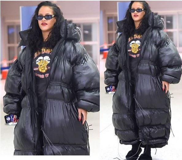 rihanna-oversized-padded-jacket-nyc