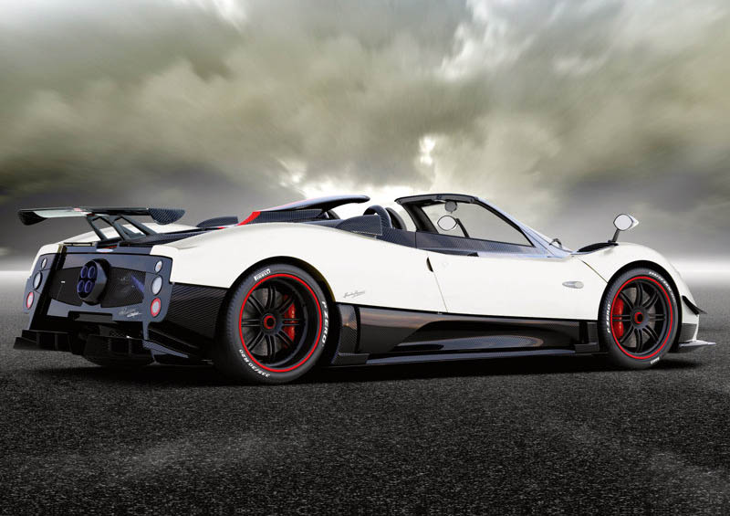 The Best Of Automotive Pagani Zonda Cinque Roadster 2010