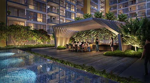 Westwood Residences - Dining Pavillion