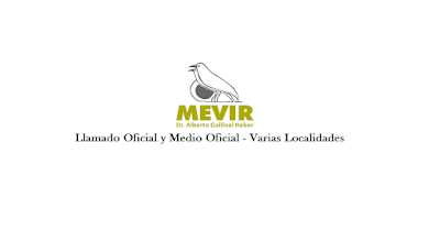 Oficial y medio Oficial - MEVIR varias localidades