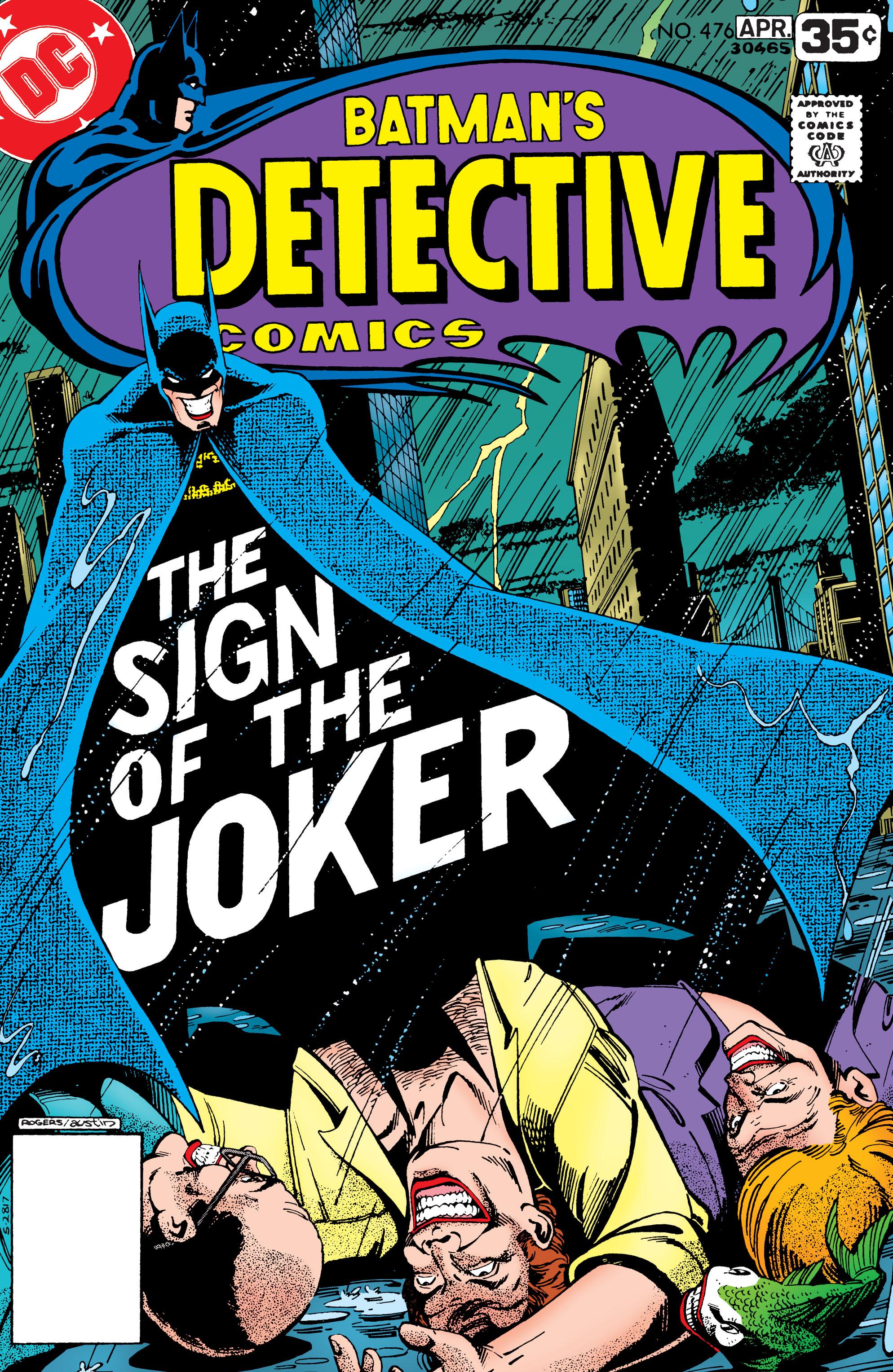 Detective Comics (1937) 476 Page 0