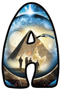 Abecedario de Stargate. Stargate Alphabet.