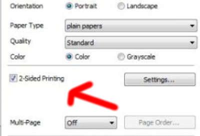 Cara Ngeprint Bolak Balik Seperti Buku di printer Epson