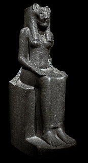 Quantum Yoga: Ancient Egyptian Goddess Sekhet in Yoga Posture (British Museum)