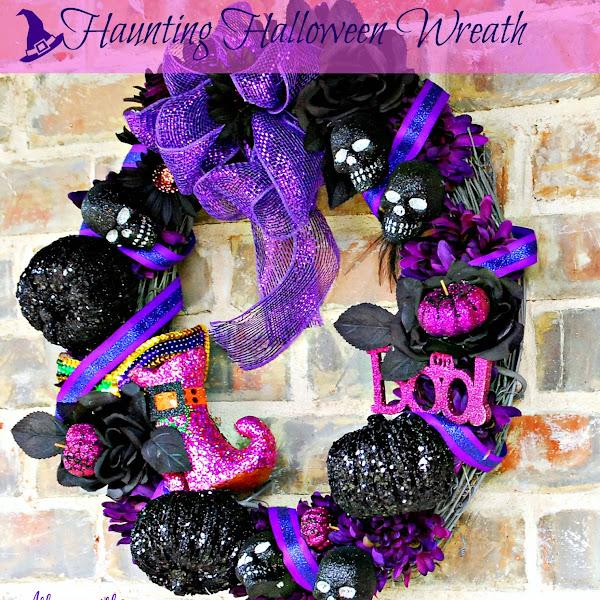 Haunting Halloween Wreath