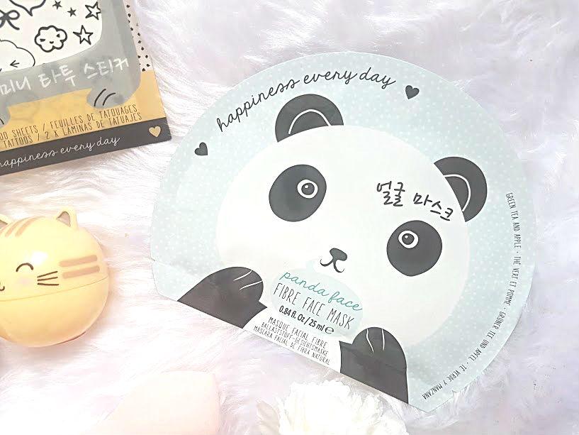 panda sheet mask