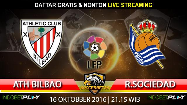 Prediksi Atheltic Bilbao vs Real Sociedad 16 Oktober 2016 (Liga Spanyol)