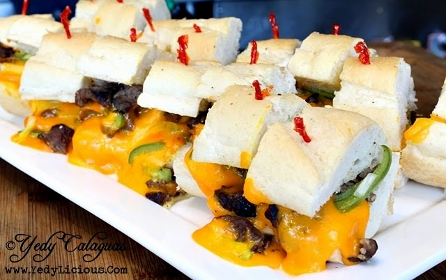 Philly Cheese Steak United Taste of America Buffet at F1 Hotel Manila