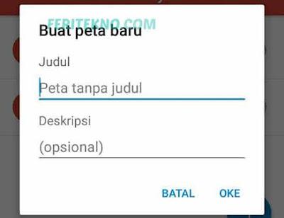 Cara Menambahkan Tempat di Google Maps Android 4