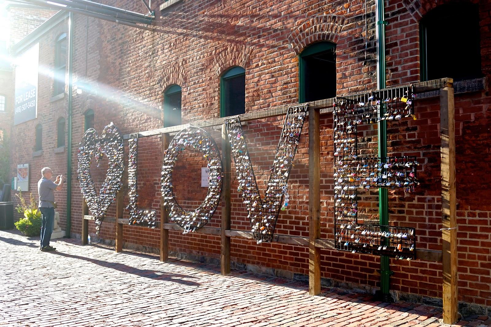 distillery love toronto