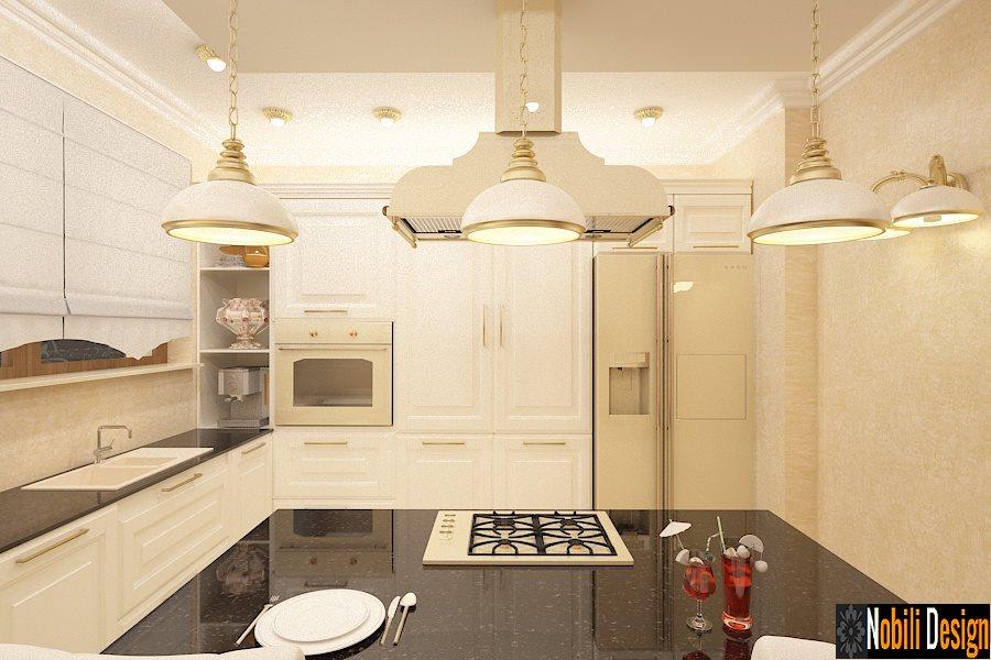 Design interior bucatarie casa stil clasic Bucuresti - Amenajari Interioare Bucuresti