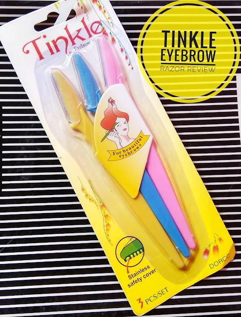 Tinkle Eyebrow Razor Review