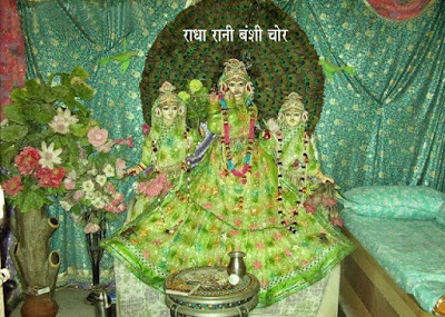 Lord Krishan, Radha Rani, Nidhivan, Krishan and radha Rani visit Nidhivan every night