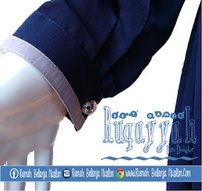 Model Manset Gamis Ruqoyyah