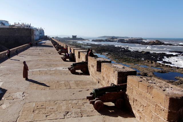 Vistas de la Skala de la Ville de Essaouira