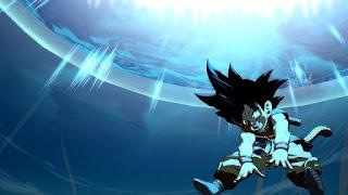 Imagens de Goku criança em Dragon Ball FighterZ