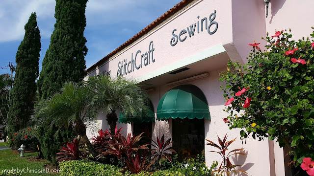 Exploring Florida - StitchCraft in Boca Raton by www.madebyChrissieD.com