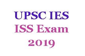 UPSC IES ISS Exam 2019 - Apply online for 65 vacancies