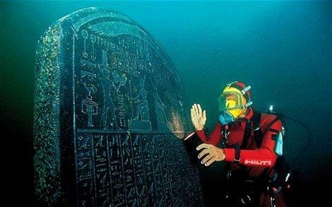 Η βυθισμένη πόλη που ένωνε  την Αίγυπτο με την Αρχαία Ελλάδα (βίντεο)