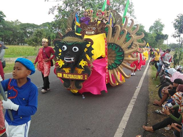 Terbaru Karnaval 2016 SDN mulyoagung 1 kecamatan singgahan