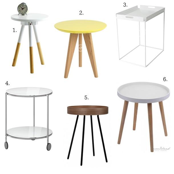Lifestyle Inspiracje Small Table Przegląd Stolików