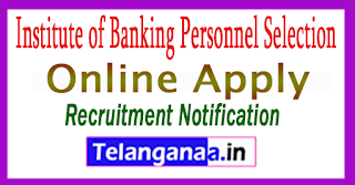 IBPS RRBs Institute of Banking Personnel Selection Recruitment Notification 2017