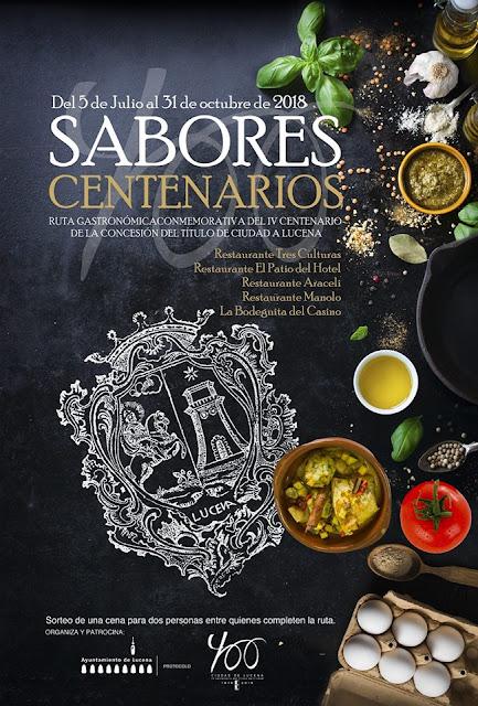 Ruta Sabores Centenarios de Lucena